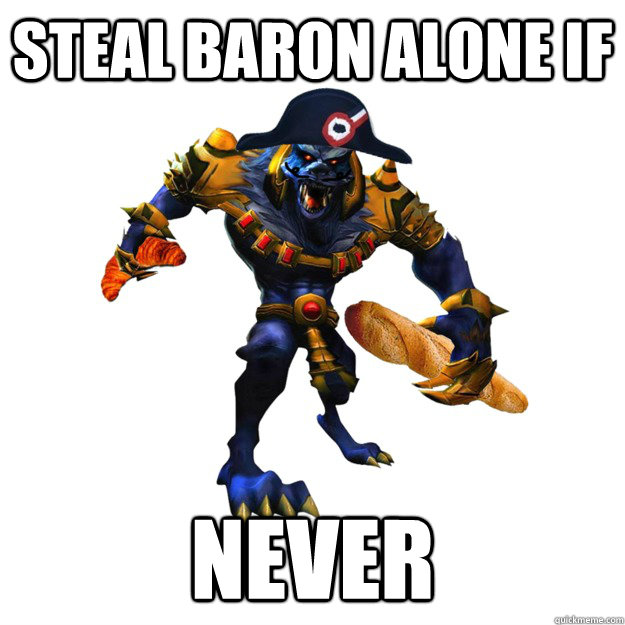 steal baron alone if never  Crvor Warwich