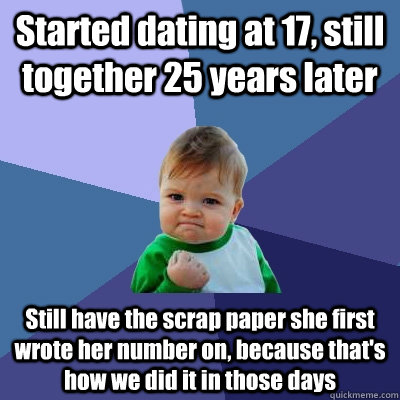 When we first started dating