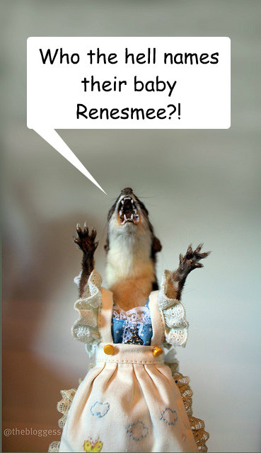 Who the hell names their baby Renesmee?! - Who the hell names their baby Renesmee?!  Misc