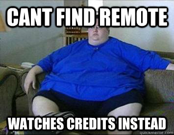 Cant find remote Watches credits instead