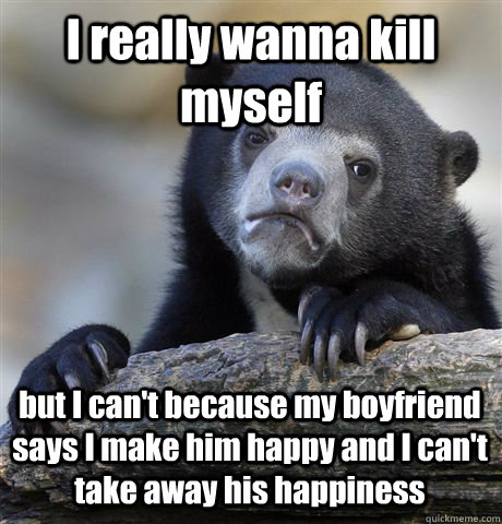 i wanna kill my myself