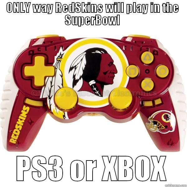 Redskins Superbowl Dream Quickmeme