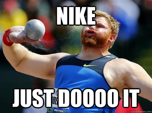 nike just doooo it - nike just doooo it  Nike athlete