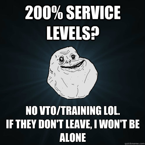 200 Service Levels No Vtotraining Lol If They Dont Leave I Won