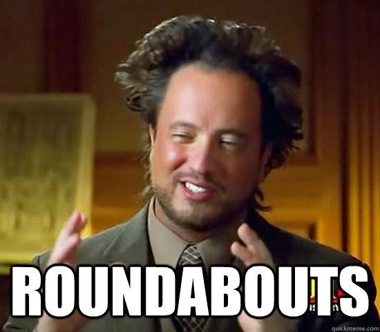 roundabouts -  roundabouts  Ancient Aliens