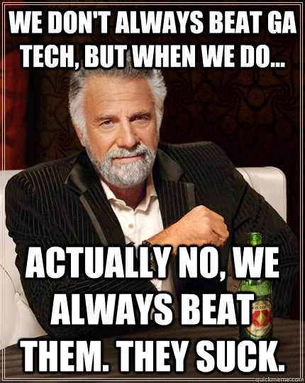 Image result for funny georgia tech memes