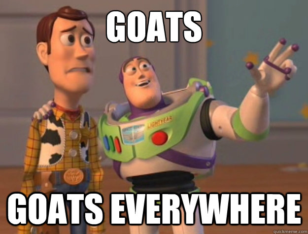 GOATS GOATS EVERYWHERE - GOATS GOATS EVERYWHERE  Toy Story