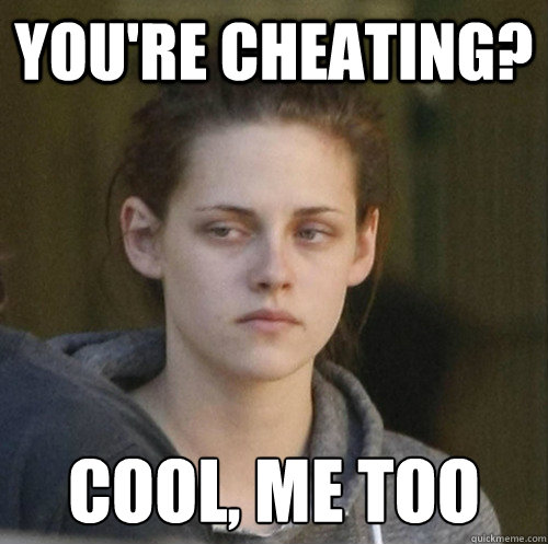 You're cheating? Cool, Me too - You're cheating? Cool, Me too  Underly Attached Girlfriend