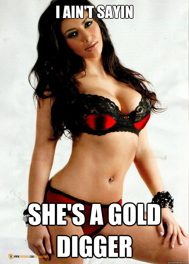 gold digger lyrics:
