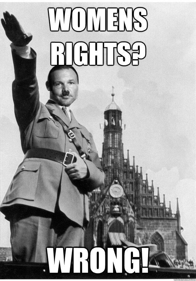 Womens Rights? WRONG!