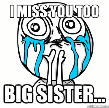 c9a7c37b3603d1cbe723817dd26b458a4197bccf356ea7c1c065f28ef26cb04d i miss you too big sister cuteness overload quickmeme