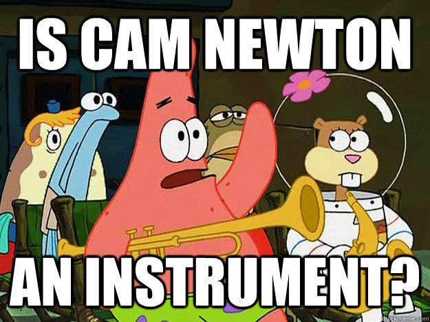 Is cam newton an instrument? - Is cam newton an instrument?  Question Asking Patrick