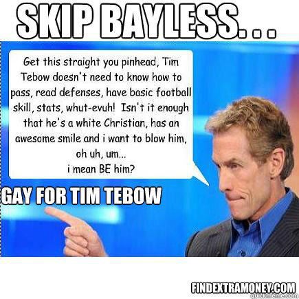 skip gay Is bayless