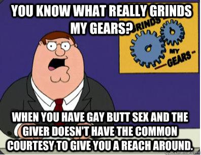 Gay reach around