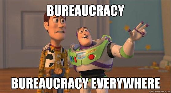 Bureaucracy bureaucracy everywhere - Bureaucracy bureaucracy everywhere Toy Story Everywhere