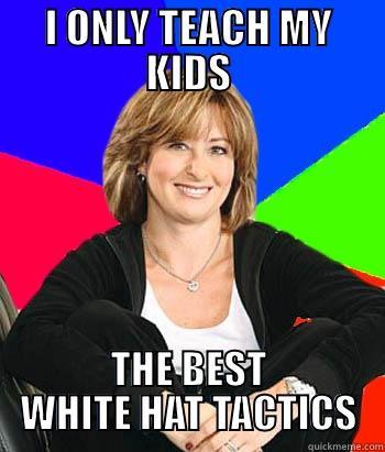 White suburban mom meme