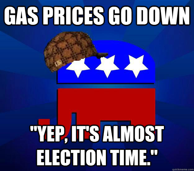 Gas prices go down