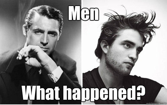 Men What happened?  Men What Happened