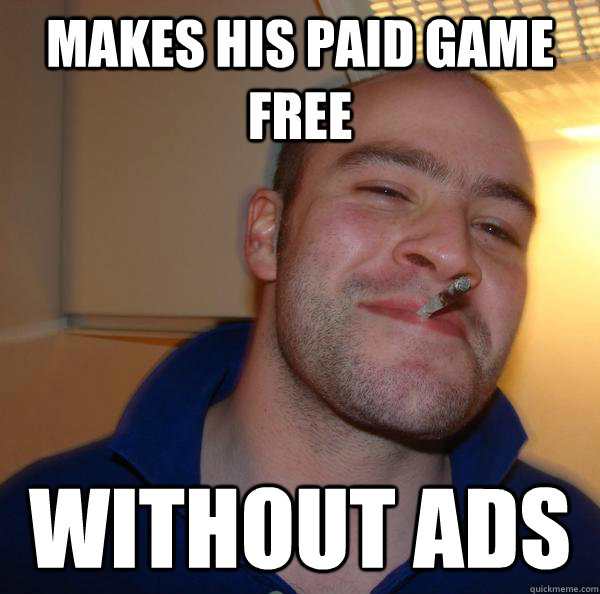 Makes his paid game free Without ads - Makes his paid game free Without ads  Misc