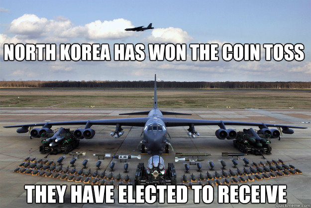 north korea has won the coin toss they have elected to receive  North Korea