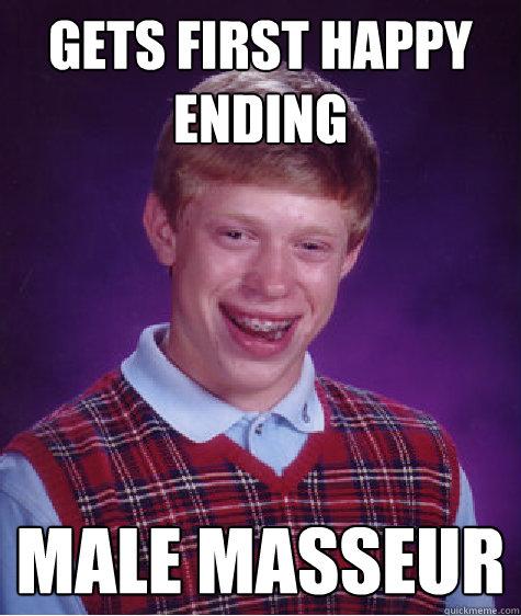 Masseur Gets A Happy Ending