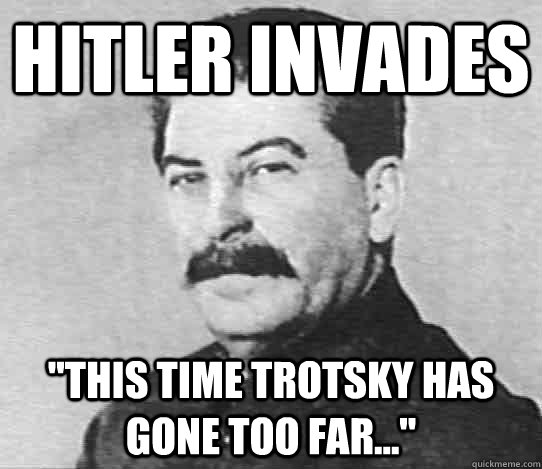 lenin and trotsky relationship memes