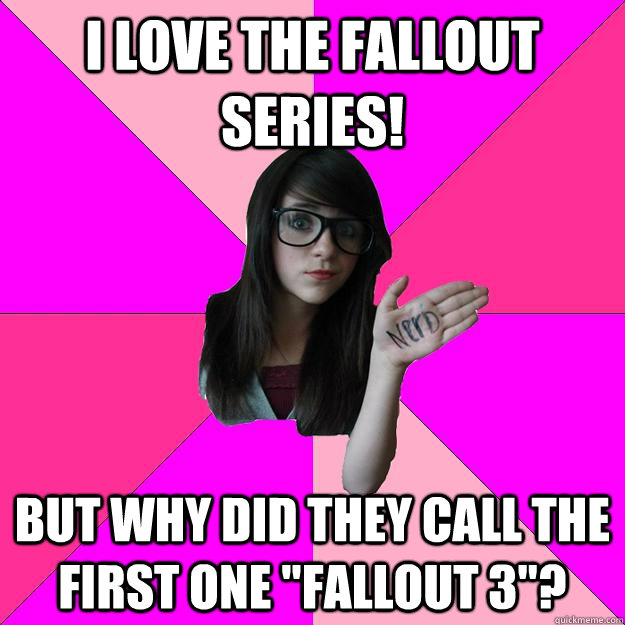 I love the Fallout Series! But why did they call the first one