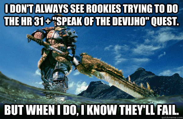 I don't always see rookies trying to do the hr 31 +
