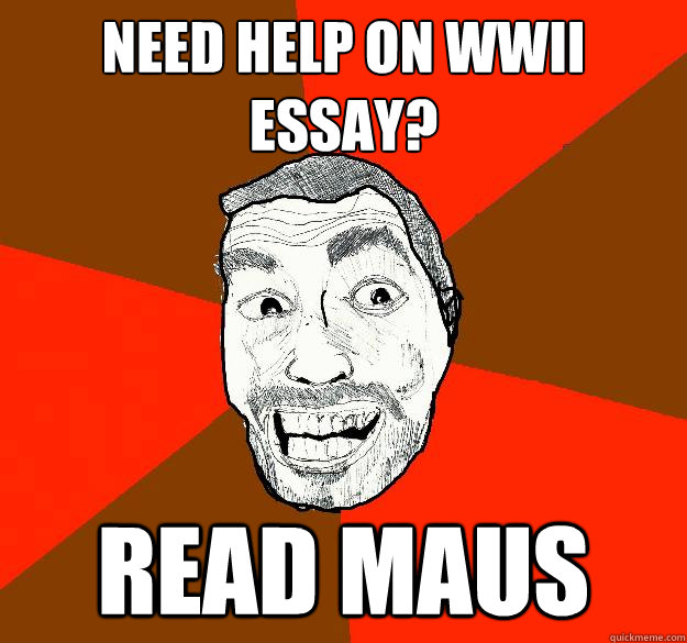 WWII essay help?