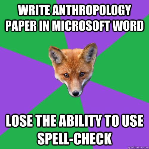 Anthropology speedy paper login