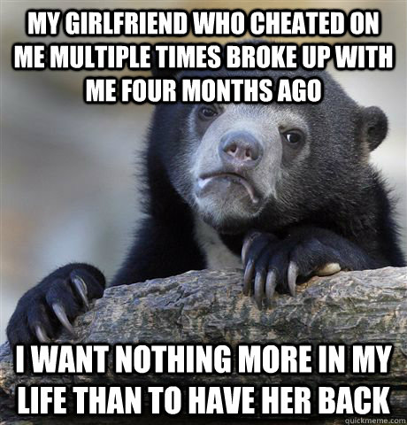 girlfriend back after cheating multiple times
