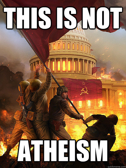 this is not atheism - this is not atheism  this is not atheism