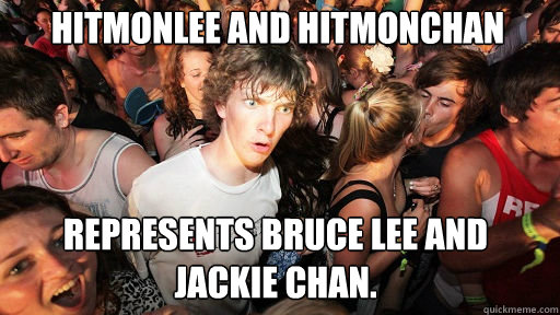 Hitmonlee and Hitmonchan Represents Bruce Lee and Jackie Chan. - Hitmonlee and Hitmonchan Represents Bruce Lee and Jackie Chan.  Sudden Clarity Clarence