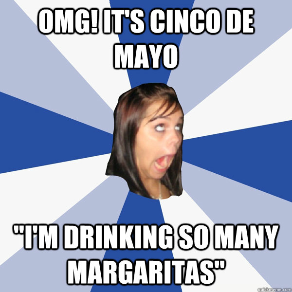 omg! it's cinco de mayo