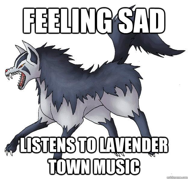 Feeling sad Listens to Lavender Town Music  - Feeling sad Listens to Lavender Town Music   Misc