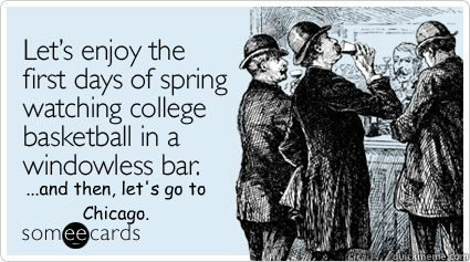 ...and then, let's go to Chicago.  spring break
