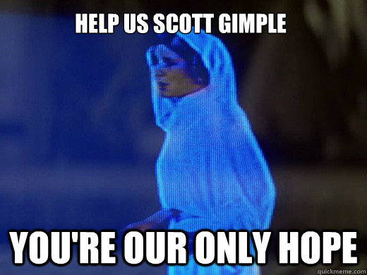 Help Us Scott Gimple You're Our Only Hope