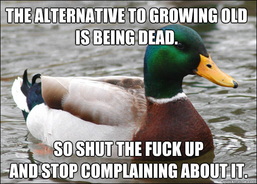 fucks old Dead and ducks