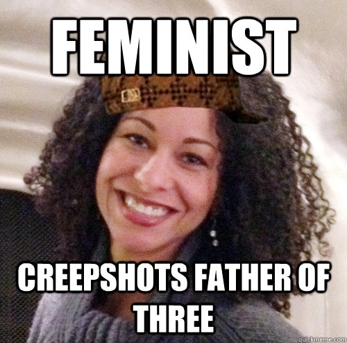 Feminist Creepshots Father of THree