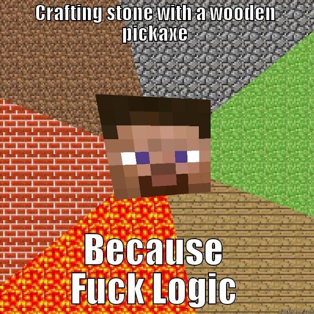 Minecraft Logic - quickmeme
