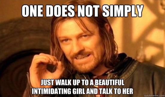 Girls intimidating memes