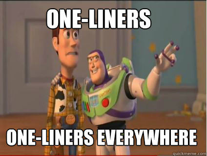 One-Liners One-Liners Everywhere - One-Liners One-Liners Everywhere  woody and buzz