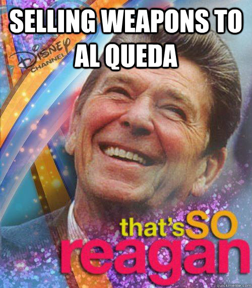 Selling Weapons to Al Queda