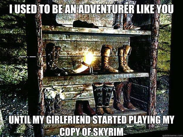 I Used To Be An Adventurer Like You Until My Girlfriend