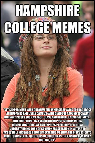 hampshire college memes