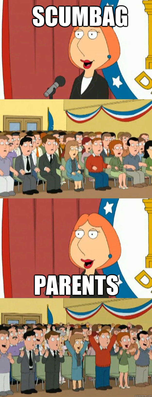 Scumbag Parents - Scumbag Parents  Lois Griffin