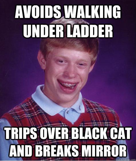 how to break bad luck