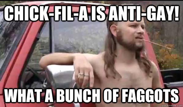 Chick Fil A Gay