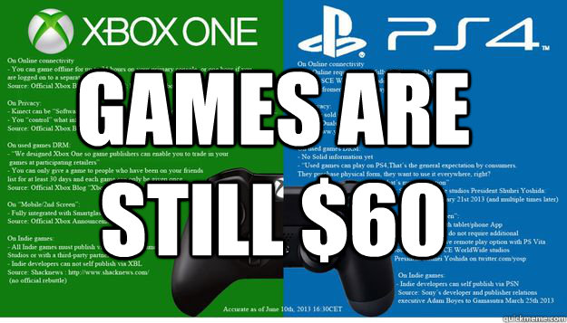 games are still $60 - games are still $60  Misc