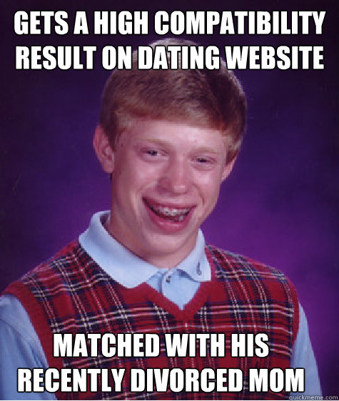 No luck on dating websites